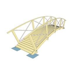 Pod arcuit din lemn