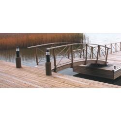 Profil lemn laminat arcuit